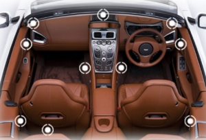 Automobile acoustical high-end